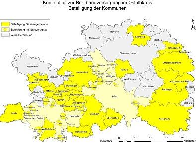 Ostalbkreis Karte.Aiz Aalen Juni 2010